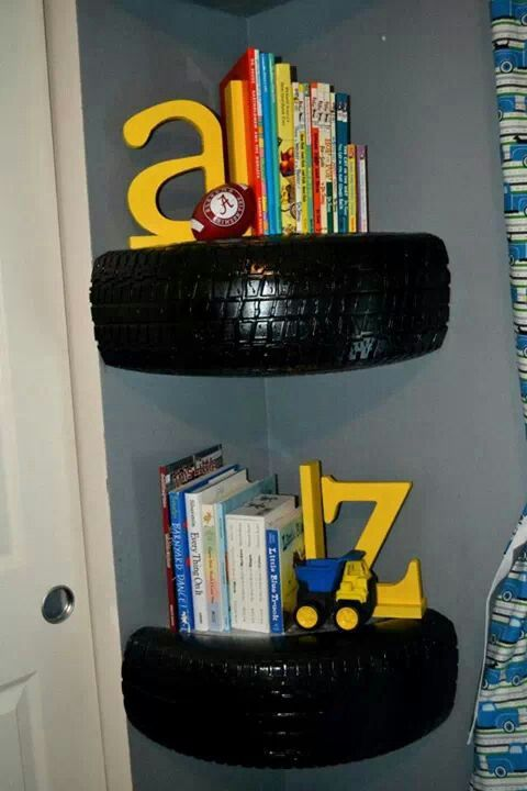 tire shelves