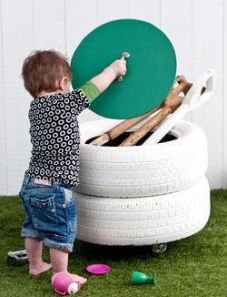 tire storage bin