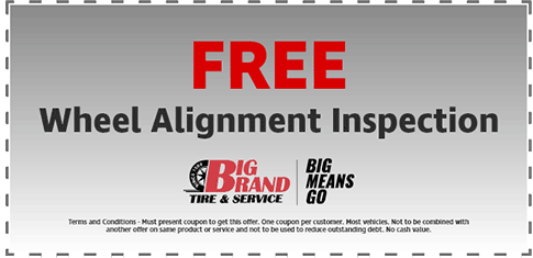 Tire & Service coupons