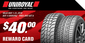 tire brand promotions
