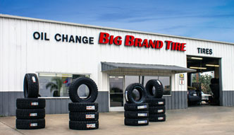 Visit our location for oil change and tires